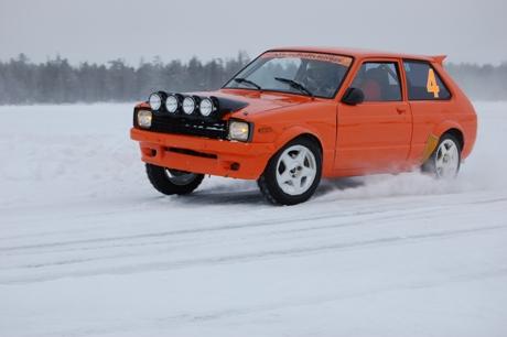 Petr Buček a Snow Rally Rings